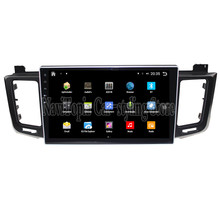 NaviTopia Brand New 10.1inch Quad Core Android 6.0 Car PC For Toyota RAV4(2013-) Steering Car Audio Player With GPS Navigation