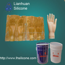 life casting liquid silicone rubber for prosthetic hands(China)