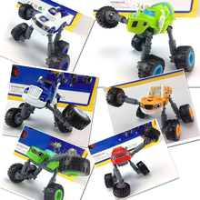 Blaze Monster Machines Russia blaze miracle cars Kid Toys Vehicle Car Transformation Toys High foot car