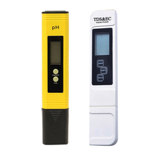 2 PCS/Set LCD PH Meter Pen TDS EC LCD Water Purity PPM Filter Hydroponic Pool Tester Wine Urine Automatic Calibration FULI