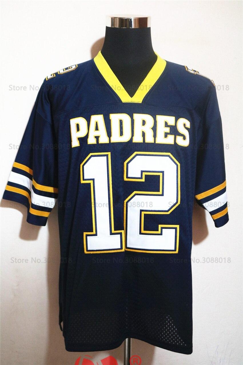 Cheap Shirt for Mens American Football Jerseys Tom Brady 12 Junipero ... e5eda37d5
