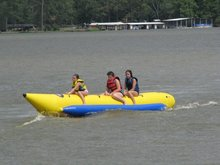 best sell inflatable banana boat for sale