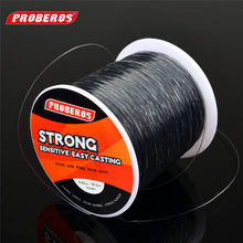 PROBEROS 500 Meters Fishing Lines Strong Nylon Monofilament Fluorocarbon Line Fishing Rope Cord 28-50LB