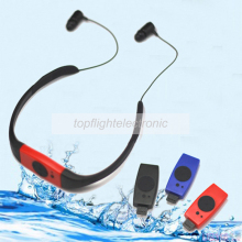 4G/8GB FM Radio Head Wearing Diving Swim Surfing Underwater Sports Music Player Waterproof IPX8 MP3 Player