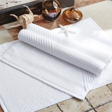 White 75cm *50cm Hotel Home Towels Cotton Thick High Quality Washroom Anti-slip Home with Absorbent Mats Free Shipping
