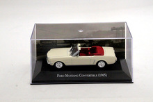 Altaya IXO 1:43 Scale Ford Mustang Convertible 1965 Car Diecast Models Limited Edition Hobbies Collection(China)