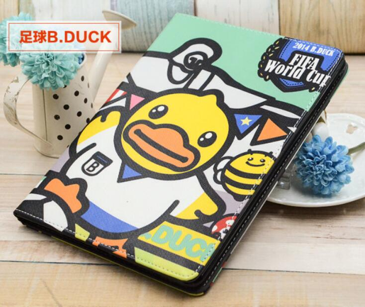 New Protective tablet PC Soft Silicone case for ipad air 2/ air 3 for ipad 6 pro 9.7 little yellow duck back Cover Case<br><br>Aliexpress