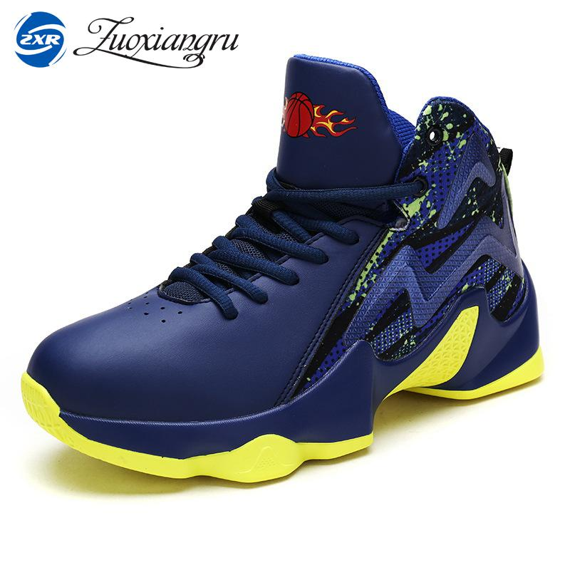 Zuoxiangru New Brand Men Basketball Shoes Fitness Sneakers Outdoor Athletic Sport Shoes Mens Trainers Ankle Boots<br>