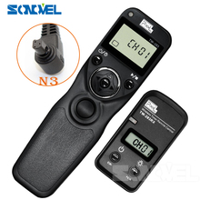 Pixel TW-283 N3 Wireless Timer Remote Control For Canon 7D 5D Mark ii 1D 6D 7D2 5D3 50D 40D 30D 10D 1D-x Camera Shutter Release