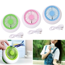 Portable Mini Fan Cooler Super Mute Battery Operated for Summer Office Cooling(China)