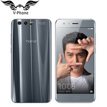Original Huawei Honor 9 4G LTE Mobile Phone 5.15' Kirin 960 Octa Core 6GB RAM 64GB ROM Dual Rear 1920*1080P Fingerprint NFC(China)