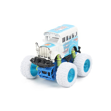 Novel Mini Alloy Metal Diecast Car 4WD Baby Toys Kids 1: 32 Scale Pull Back Climbing Car Model Vehicle Gift Toy for Children