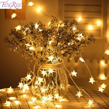 FENGRISE 3M 20LED Star Light String Wedding Decoration Valentine Decor Birthday Gift Bachelorette Party Supplies(China)