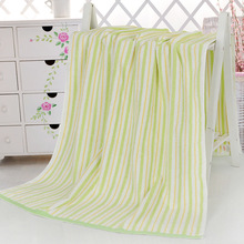 Large Cotton Beach Towels Striped Quick Drying Travel Towel Sports Swim Gym Bath Towels for Adults Blanket 70*140CM