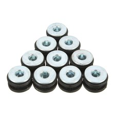 10PCS Motorcycle Rubber Grommets Bolt Replacement For Honda for Yamaha for Suzuki for Kawasaki
