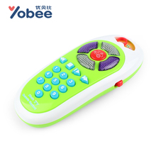 Yobee Musical Early Education Mobile Phone Toy Three Language Song Number Learning Toy for 12 month Baby Gift(China)