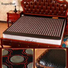 Electric Heating Jade Bed Mattress Tourmaline Physical Therapy Cushion Health Care Mat Free Shipping(China)