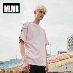 Мужская футболка с коротким рукавом, свободного покроя