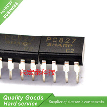 10PCS PC827 DIP Dual Channel Optocoupler Chip New Original Free Shipping