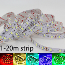 LED strip light SMD 5630 5730 DC 12V Kitchen Cabinet Shelf Counter LED Lighting Strip tape lamp 1m 2m 5m 10m 15m 20m tape lamp