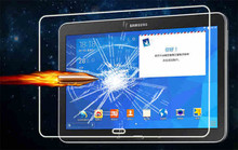 9H 2.5D Tempered Glass Screen Protector Film for Samsung Galaxy Tab 4 10.1 T530 T531 T535 + Alcohol Cloth + Dust Absorber