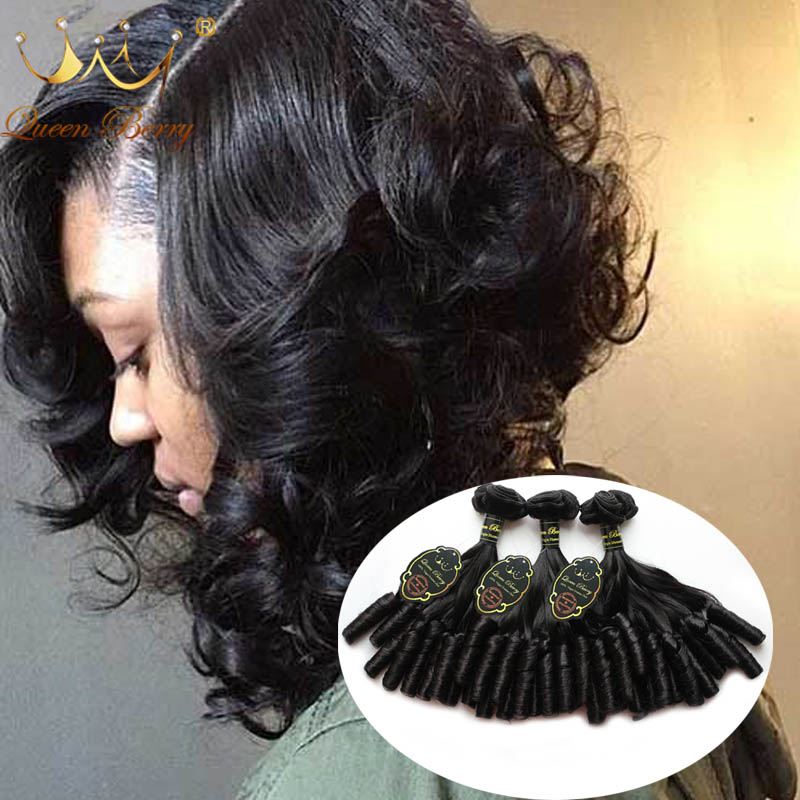 Unprocessed Human Virgin Hair Free Shipping 3pcs/lot Brazilian Virgin Hair Romance Curl 10A Grade Human Hair Extension Color 1b#<br><br>Aliexpress