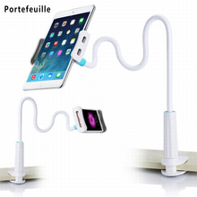 Cell Phone Holder Universal Flexible Long Arms Mobile Phone Holder Desktop Bed Lazy Bracket Mobile Stand Support for iPhone IPad(China)