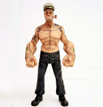 Headplay 1/6 Popeye Sailor Man Resin Statue Figure With Tattoo Full set Model Collections Gift
