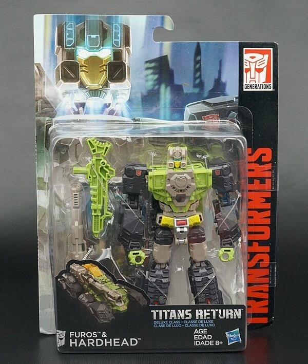 Titans Return Hardhead robot action figures classic toys for boys with retail box RD0006<br><br>Aliexpress
