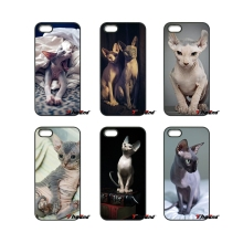 For iPod Touch iPhone 4 4S 5 5S 5C SE 6 6S 7 Plus Samung Galaxy A3 A5 J3 J5 J7 2016 2017 Friendliest sphynx cat kitty Case Cover(China)