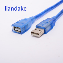 Liandake USB extension line of male to female computer mouse and keyboard 2 extended U disk data connection line 1 meters 3 mete