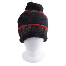 NEW Fantastic Trend Korean Design Striped Caps Fashion Ladies Knitted Hat Warm Hip Hop Style Casual Beanies Cap(China)