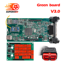 CDP TCS cdp TCS PRO Plus Bluetooth green board 2015 R3 keygen software as Multidiag pro OBD2 scanner cars trucks diagnostic tool(China)