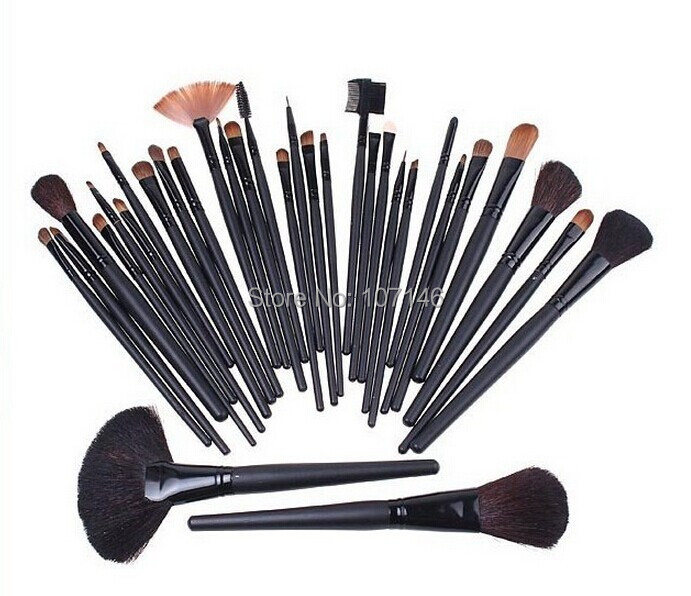 Hot 32Pcs Make Up Brushes High Quality Facial Cosmetic Kit Beauty Bags Set Makeup Supply<br>