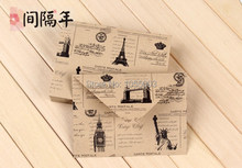 Kraft paper Vantage Western Scenes Envelope Postcard Envelope Greeting Card Envelope(China)