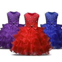 Детское цветочное платье, 3-8 лет