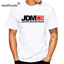 Antidazzle Plus Size Japanese Domestic Market JDM Rock T Shirts Men Man's Short Sleeve Crewneck Cotton Men T Shirt Team Tops Tee(China)