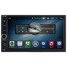 New 8 core 2G RAM Universal Double 2 Din Android 5.1.1 Car DVD(no) GPS Navigation Bluetooth Mirror link car radio stereo wifi 3G