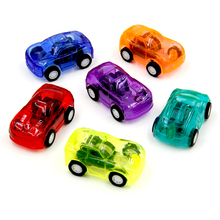 12Pcs Pull Back Racer Mini Car Kids Birthday Party Toys Favor Supplies for Boys Giveaways Pinata Fillers Treat Goody Bag(China)