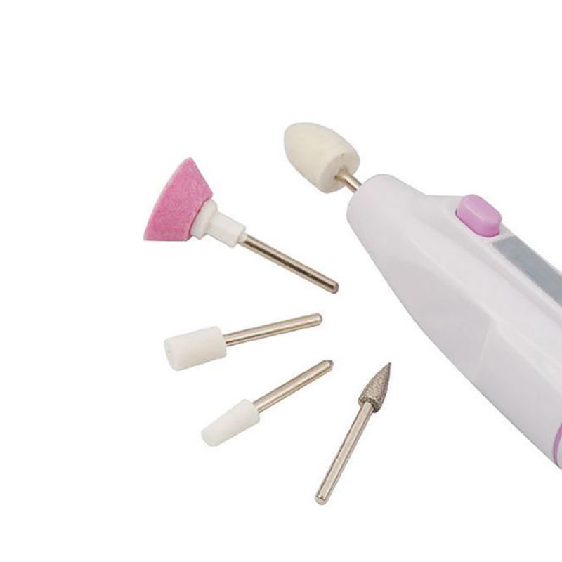 Low Price Nail Art Tips Electric Drill File Buffer Manicure Pedicure Grooming Tool(China)