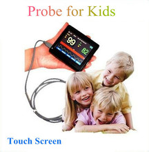 Kids Infant Handheld Oximeter PM-60A + Touch Screen,Pulse SPO2 Baby Heart Rate Monitor Children Pulse-OX Probe