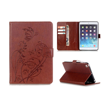 New Fashion Original For Apple iPad mini Case Pu Leather Cute Cover Case for New iPad mini 1/2/3 Embossing style(China)