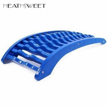 Healthsweet Spine Pain Relief Lumbar Traction Stretching Device Waist Relax Back Massage Board Prevention Lumbar Disc Herniation