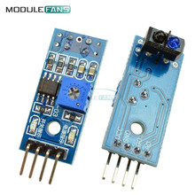 10PCS TCRT5000 Infrared Reflective IR Photoelectric Switch Barrier Line Track Sensor Module For Arduino