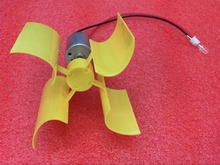 Miniature wind turbine vertical axis wind Alternative Energy generator DIY technology making physical power principle(China)