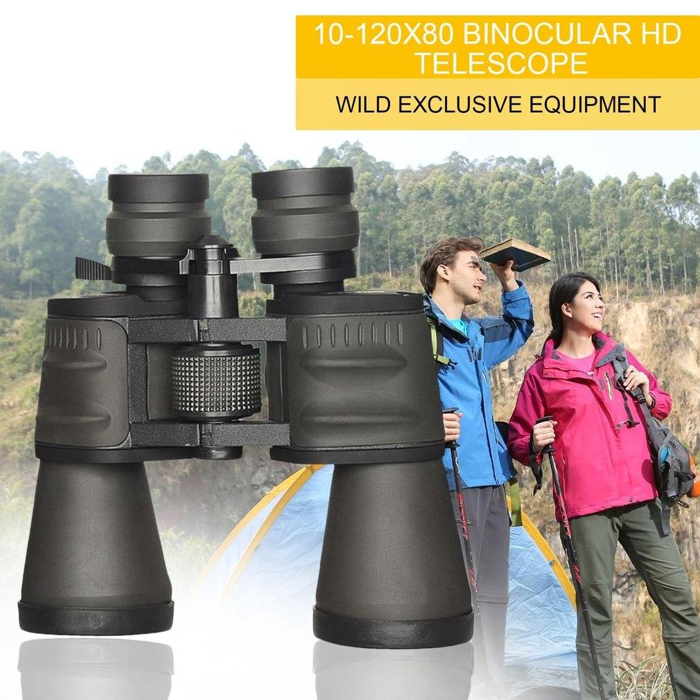 10-120x80 Binocular High Power Zoom Telescope High Definition Binocular Life Waterproof Portable High Magnification<br>