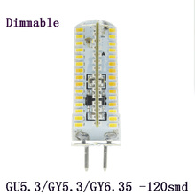 1XHigh Power 6W 7W 8W 9W 10W Dimmable 220V MR16 GU5.3 LED spotlight bulb lamp 220V G4 LED 3014 2835 Spot light lamp bulb(China)