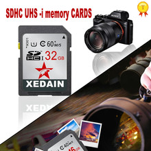 XEDAIN Original Memory card class 10 sd card 16GB 32GB 64GB Transflash SDHC TF Card flash USB card adapter usb flash drive(China)