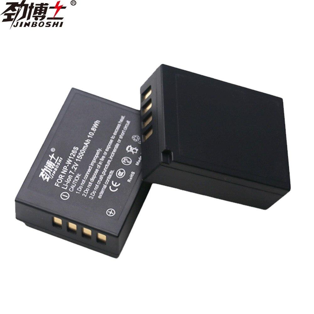 2X BATTERY NP-W126+charger FOR FUJI FILM XT1 XE2 XE1 XA1 XM1 HS50 HS33 X-Pro1
