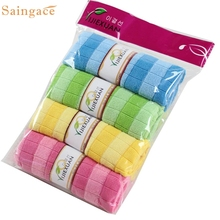 Soft Cotton Car Cloth Towel House Cleaning Practical Kitchen Cleaning Wiping Wonderful
